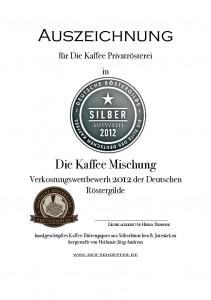 Die Kaffee Mischung - Silber 2012