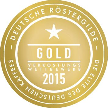 Goldmedaille Deutsche Röstergilde