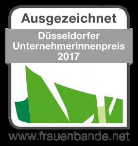 Düsseldorfer Unternehmerinnenpreis 2017